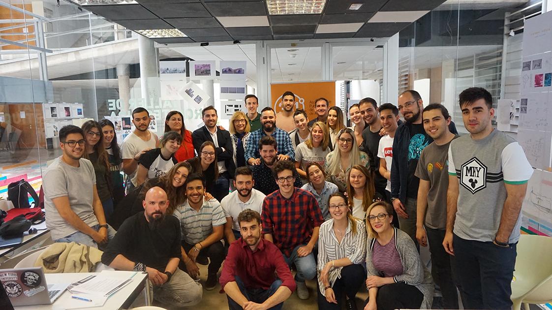 Participantes Jóvenes Creativos 2018