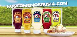 Mayonesa Heinz Rusia