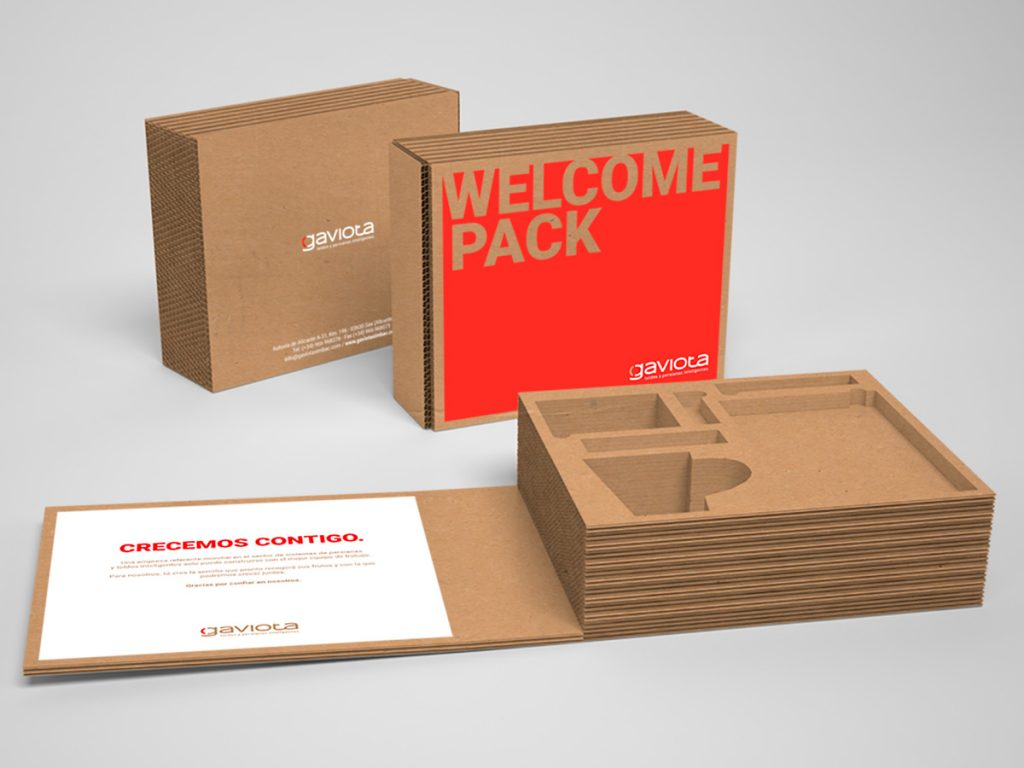caja packaging gaviota simbac
