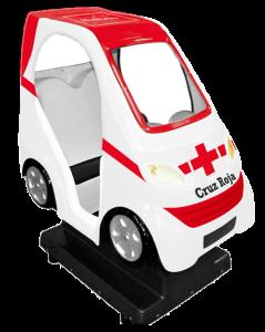 Cruz Roja packaging ambulancia