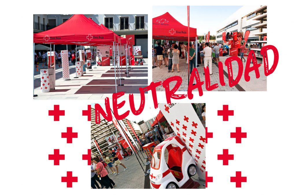 Cruz Roja packaging neutralidad