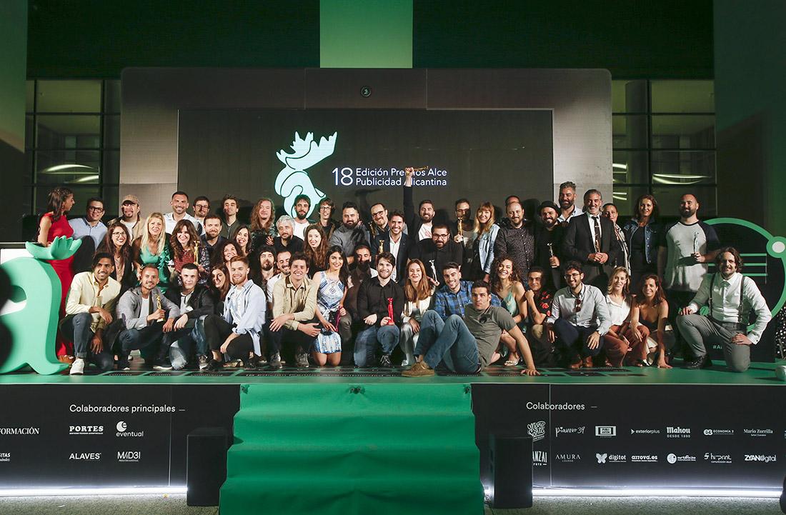 Foto final premiados Alce 2019
