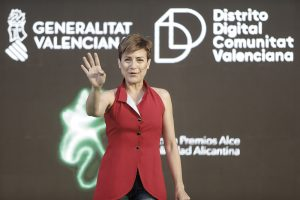 Sara Escudero, presentadora de los Premios Alce 2019